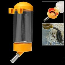 Boutique Pet Dog Puppy Gerbil Hamster Cage Water Feeder Bottle Yellow