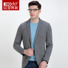 Hodo 2017 Mens Blazers Fashion Men Blazer Casual Mens Blazers Designer Striped Suit Men's Blazers And Suit Jackets(China)