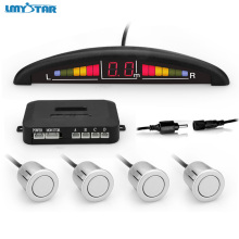 LMYSTAR Hot Sale LED Display Car Parking Sensor Kit 22mm Backup Radar Monitor Parking System Reverse Assistance Parking Sensors