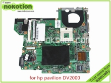 NOKOTION 440778-001 417036-001 48.4F501.051 for HP Pavilion DV2000 Laptop motherboard 945GM without overheat Mainboard(China)