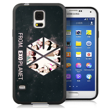 EXO Popular Band Mobile Phone Case For Samsung S3 S4 S5 S7 S6 edge plus Note 2 Note 3 Note 4 Note 5 Soft Rubber Skin Cover Shell
