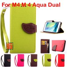 Buy Leaf Clasp PU Leather Flip Wallet Walet Wallt Phone Case kryty Cover Sony Xperia Xperi Experia M4 M 4 Aqua Dual E2353 Green for $4.69 in AliExpress store