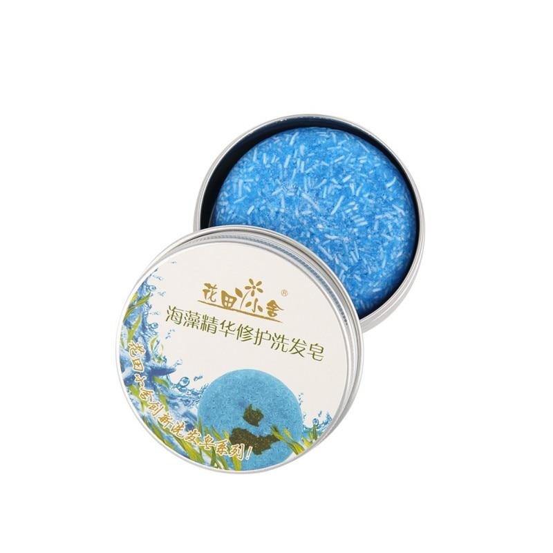 9 Colors 55g Handmade Hair Shampoo Soap Cold Processed Cinnamon Shampoo Bar 100% Pure Hair Shampoos Hair Care Tool 6