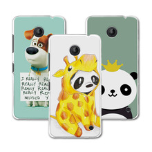"Newest Painted Dog Bear Case Coque For Nokia lumia 630 Hard PC Case Cover For Nokia 630 4.5"" fundas + Gift"
