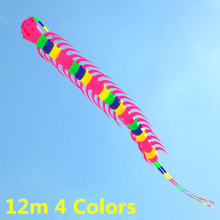 free shipping high quality 12m pendant Centipede kite soft kite outdoor toys large kite factory new octopus kite reel albatross