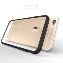 Classic new arrival Original GU JIANG Brand transparent silicon phone case for iphone 6s ultra-thin soft design(China)