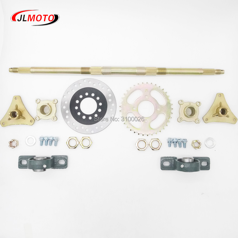 JLA-07-063-4-610MM-AXLE-ASSY-WITH-BRAKE-DISC-ATV-PARTS