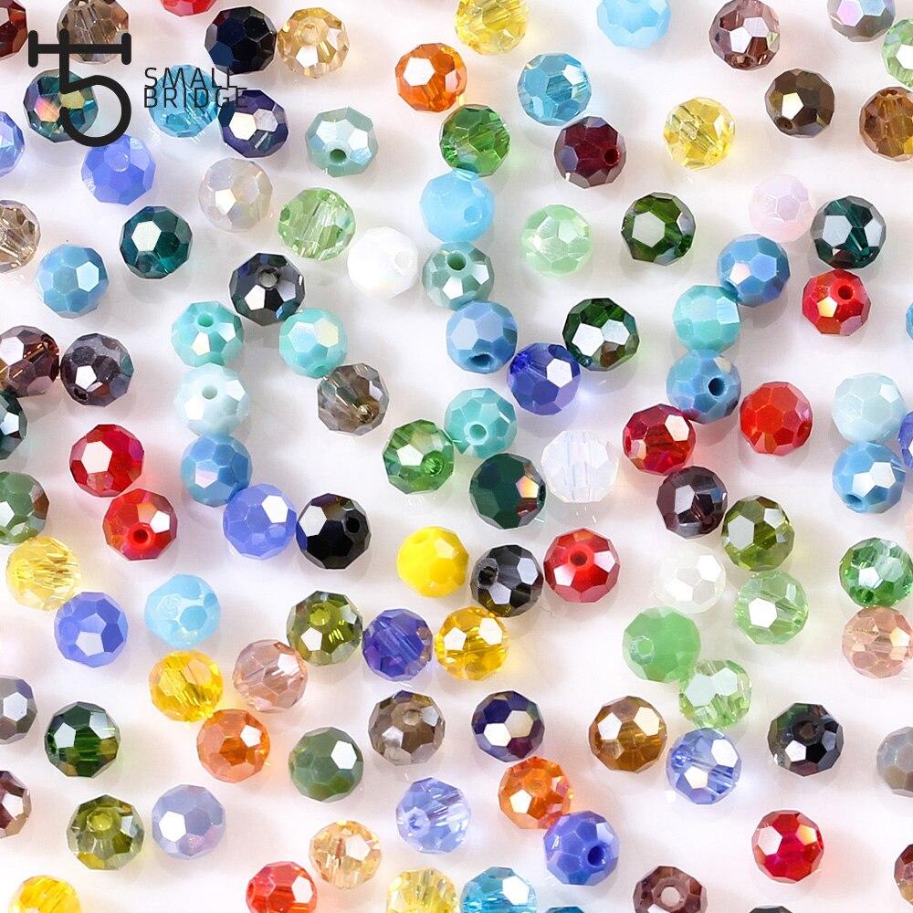 Round Glass Beads (6)