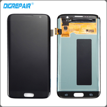 white black gold LCD display touch screen digitizer Assembly replacement parts for Samsung Galaxy S7 edge G935 G935F T A FD P V