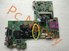 100% Original HX766 CN-0HX766 laptop motherboard for Dell Inspiron 1720 1700 PM965 DDR2 Non-Integrated Free shipping