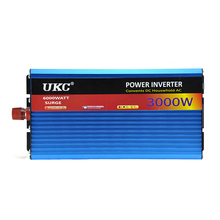 UKC AC 3000W Modified Sine Wave Professional  Power Inverter USB Charger Adapter Car Power Inverter Converter 24V to 220V 50HZ