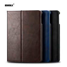 "For ipad 2 3 4 Case Anti Dust Luxury Magnetic Coque PU Leather Flip Card Holder 9.7"" Tablet Cover Cases For Apple ipad 4 3 2(China)"