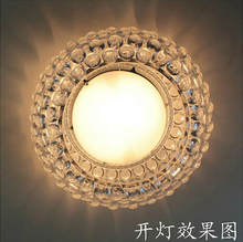 Modern 35/65cm Foscarini Caboche Ceiling Lights Factory Acrylic Ball Abajur Home Ceiling Lamp Fixtures Clear Classical Luminaria