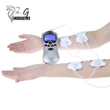 4 Electrode Health Care Tens Acupuncture Electrotherapy Massage Machine Pulse Body Slimming Apparatus For Home travel And Office