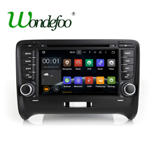 Android 7.1.1 RAM 2G/1G Quad core 1024*600 Touch screen 2 DIN Car DVD GPS Radio stereo For AUDI TT  wifi 3G GPS AUDIO dvd player