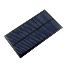 Outdoor Mini 6V 1W Solar Power Panel Solar System Module DIY For Light Battery Cell Phone Toys Chargers camping survival kit