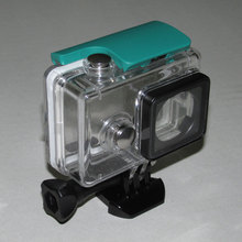 Accessories for Xiaomi Yi Underwater 40M Diving Waterproof Housing Case Protective Cover for Xiaomi Yi Action Camera(China)