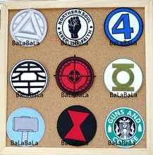 Fantastic Four Doctor Strange Movie TV logo cloth badge iron on patches biker vest applique coat Embroidered cinephile wholesale(China)