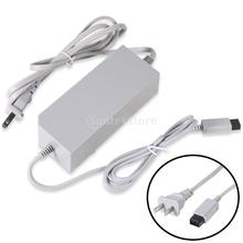 US Plug Wall Power Supply Cord Adapter Charger for Nintendo Wii RVL002-Grey(China)
