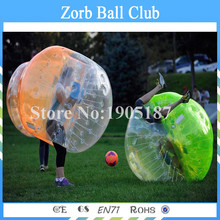 Free Shipping Colorful Inflatable Bubble Ball Suit Inflatable Bubble Football Ball For Sales