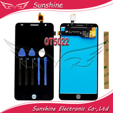 For Alcatel One Touch Pop star 4 5022 OT5022 LCD Display Screen with Touch Digitizer Panel Assembly(China)
