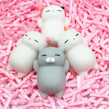 AJP Fun Novelty Antistress Ball Cat Toy Cute Cat Emotion Vent Dolls Adult Children Toys Gift