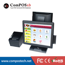 HOT 15-inch Touch Screen Cash Register POS Terminal-- Direct Touch POS  With Printer Card Reader