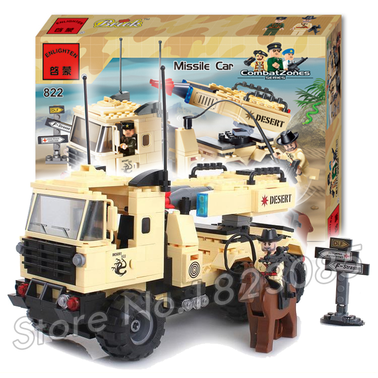310pcs 2017 new Hot New CombatZones Missile Car large model Christmas Gift Building Blocks toys<br><br>Aliexpress
