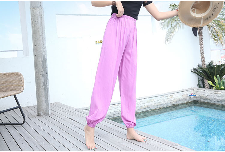 Baggy Pants Women Plus Size Women Pants 19 Summer Women Solid Color Casual Loose Harem Pants Trousers Pantalon Femme Pantalon 11