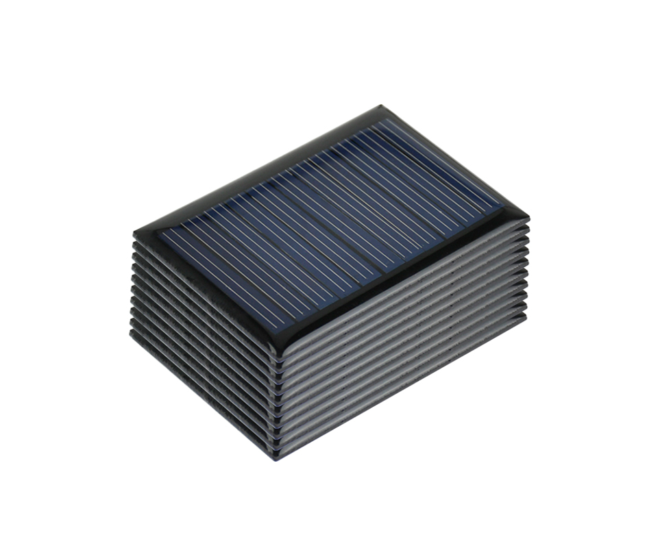 Aoshike 10Pcs Solar Panels Polycrystalline Silicon Flexible Solar Power Charger 5.5V 0.22W 54.5x38mm DIY Portable Solar cells 8