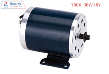 MY1020 750W 36V 48V High-Speed Brush BLDC Motor,Electric Bicycle Engine,E-Scooter Motor,Ebike Brush Gear Motor Ebike Accessories