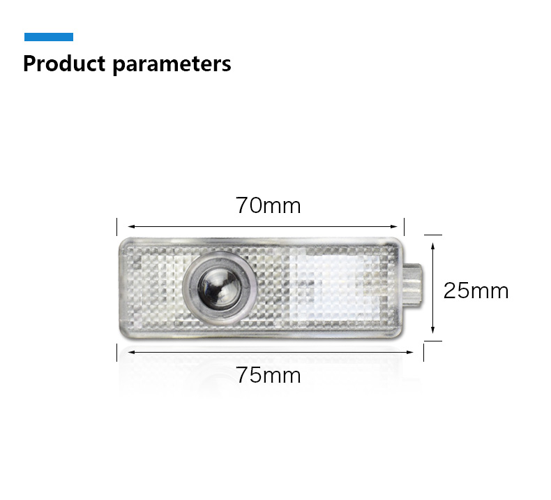 LED Car Door Shadow Light Laser Projector Logo Welcome Lights for Mini Cooper Countryman Accessories Car Styling (10)