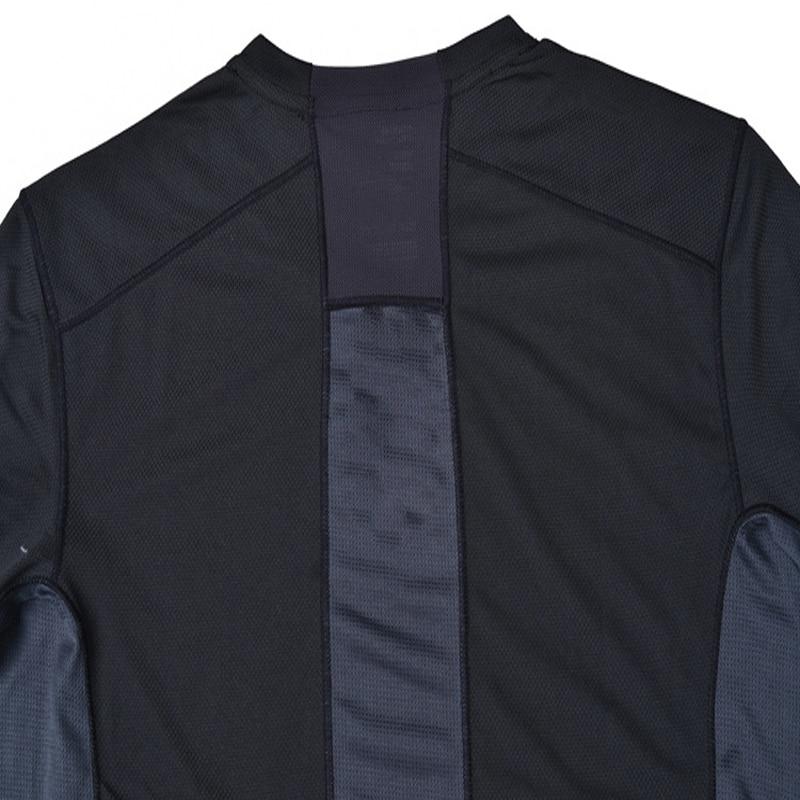 Spring Men Elastic Quick Dry T-shirt Male Outdoor Tees Long Sleeve Shirt Sport Breathable Soft Fabric Trekking Hiking Shirt3