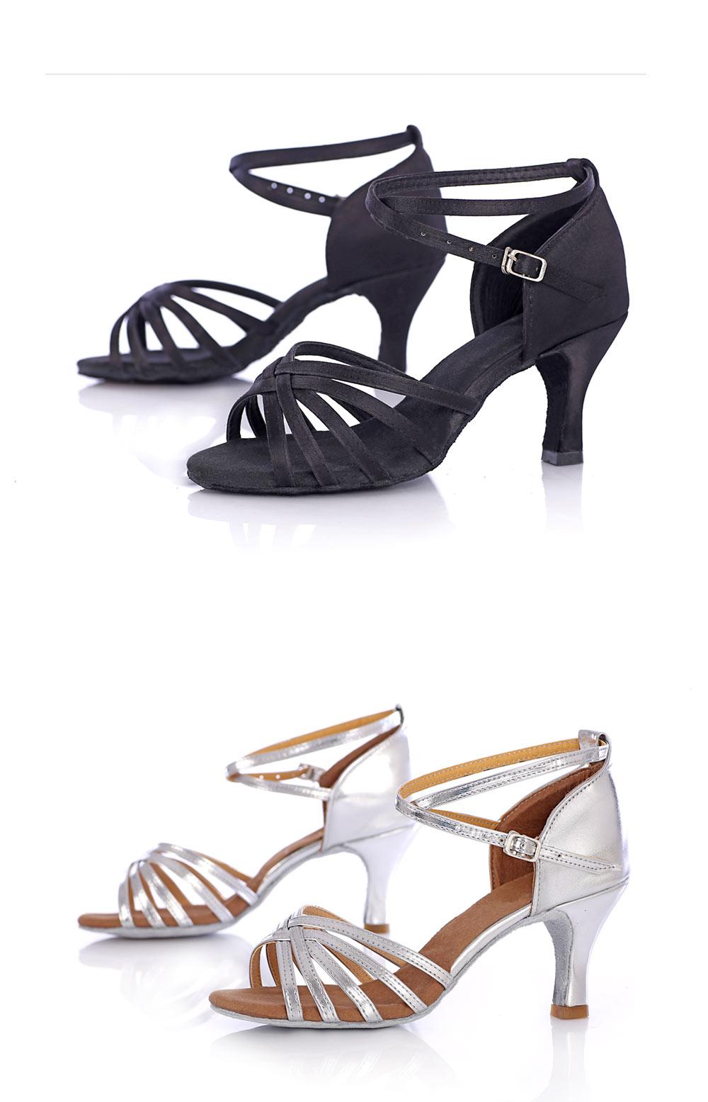 Latin Dance Shoes For Women Salsa Tango Ballroom Dance Shoes High Heels soft Dancing Shoes 5 7cm Heel zapatos baile comfortable (12)
