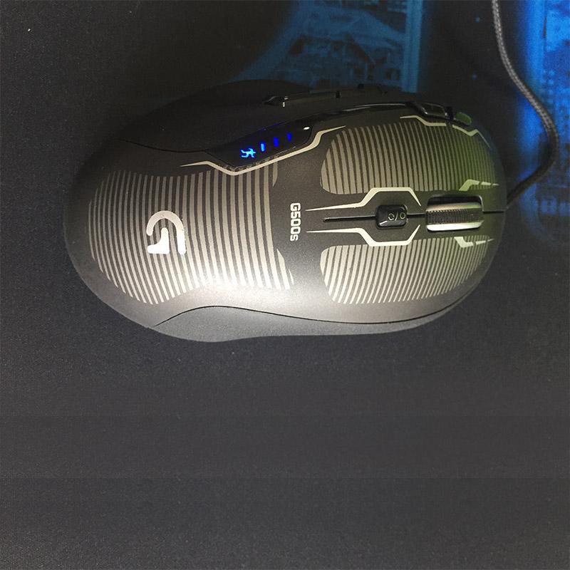 Logitech G500s blue 1
