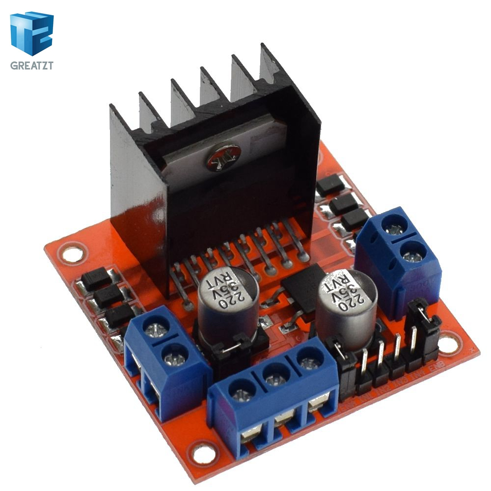 Special promotions 10pcs/lot L298N motor driver board module L298 arduino stepper motor smart car robot
