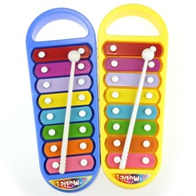 Kid Baby Musical Instrument 8-Note Xylophone Toy Wisdom Development children musical instruments intrumentos musical great