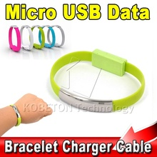 Wholesale Micro USB Cable Bracelet Data Charging Line Wristband For Android Cellphone