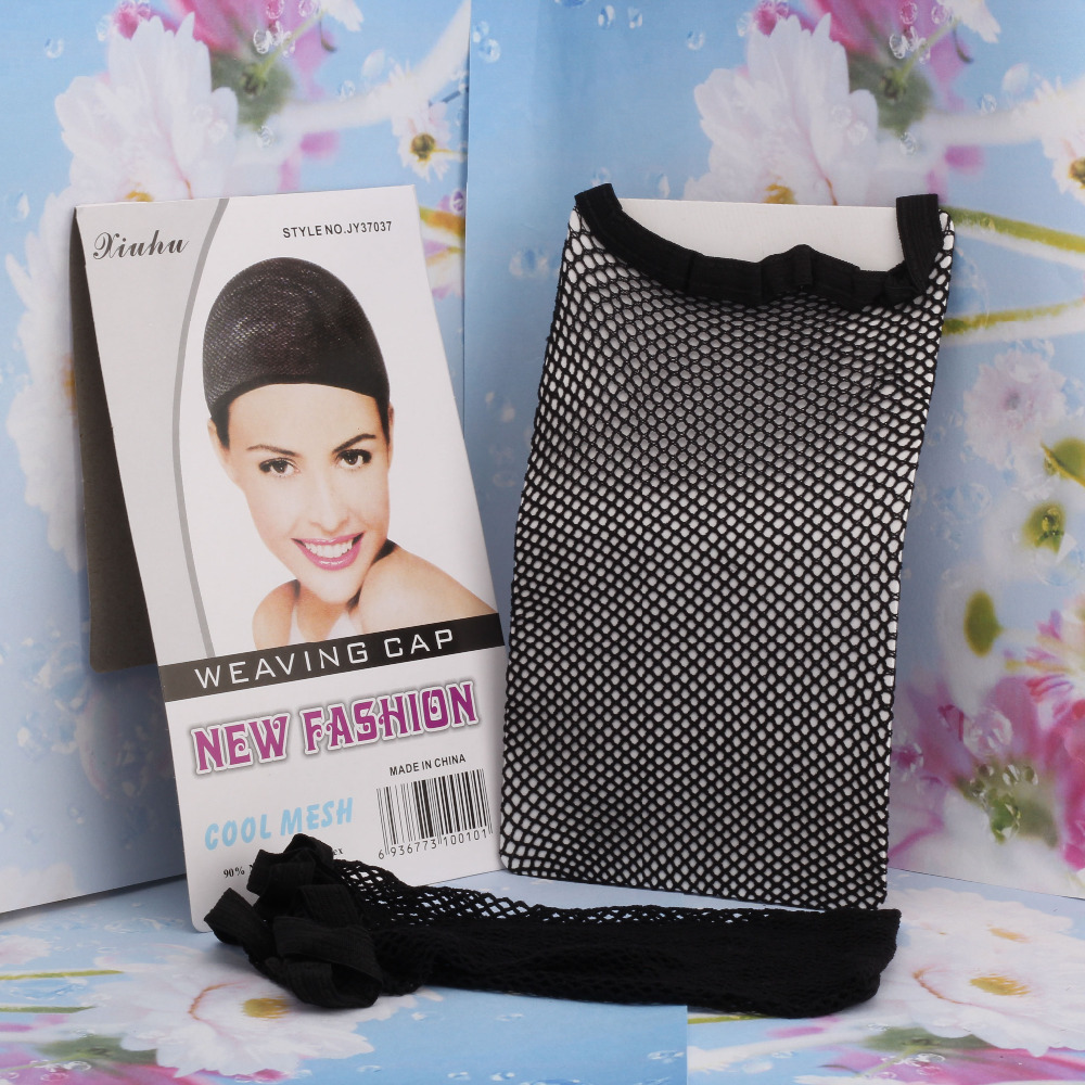 M MISM Hair Accessories Elastic Great Density Stretchable Elastic Fishnet Cap Hairnet Snood Mesh Net Weaving Hairnet Headband(China (Mainland))