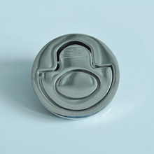 Boat Stainless Steel Spring Lift Handle Hatch Flush Mount Marine Deck Hinge(China)