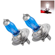 2Pcs H7 PX26D 12V 6000K 100W Super White Auto Car HOD Halogen Bulbs Lamps Headlight Bulbs For Any Car Headlight Bulbs 12V