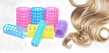 12pcs Dia 2cm Plastic Hair Curlers Roller Makeup DIY Hair Styling Roller Hair Curlers Clips for Women Girls GYH(China)