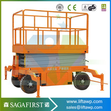 Factory direct supply manual mobile scissor lift mechanism(China)