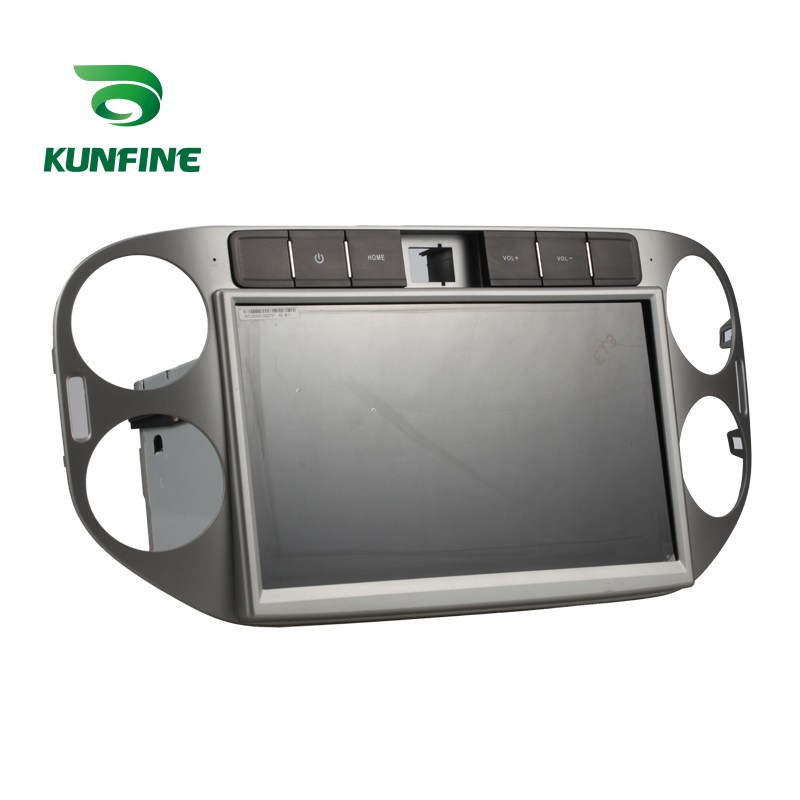 10.1 inch Car Stereo DVD Player GPS Navigation  for Tiguan 2013-2014 Radio Silver Color D