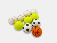 2pcs Small ball Colorful Stress Relief Hand Finger Muscle Massage Ball Toy Balls free shipping WYQ