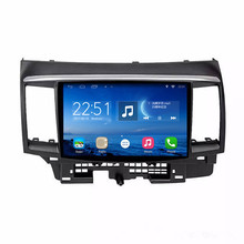 ChoGath(TM) 10.2 Inch Android 6.1.1 GPS Navigation for 2008-2015 Mitsubishi LANCER 10 Radio with Touch Screen DVR WiFi Bluetooth