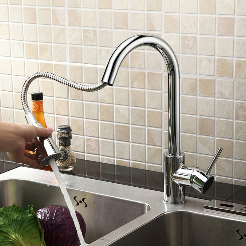 Kitchen Faucet Pull Out,Kitchen Tap,Taps For Kitchen Sink,Water Tap Kitchen,Faucet Mixer HG-1210DC<br><br>Aliexpress