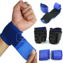 2017 New Adjustable Sports Wrist Brace Wrap Bandage Support Gym Strap Wristband(China)