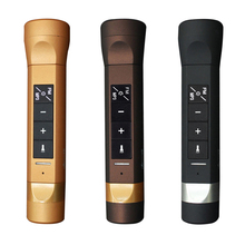 Newest Multi- Function LED Flashlight Sports Music Speaker Torch Cycling Speakers Power Bank Charger Speakerphone