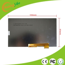 CHUANGSIKE 7'' inch 30 pin Display Matrix FPC0703008_A FPC0703008 3G TABLET 1024*600 Screen Lens Frame replacement Free shipping(China)